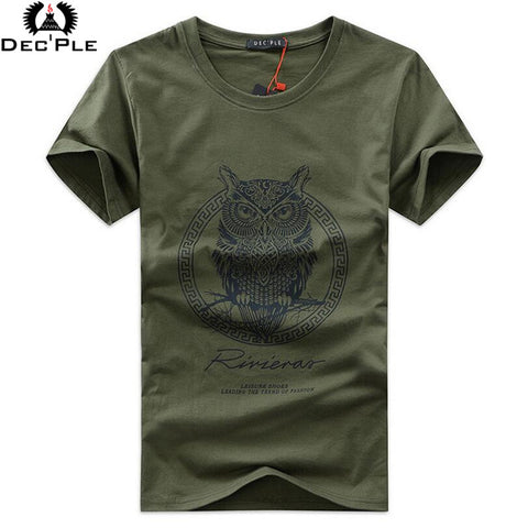 Dec'ple O-neck T-shirt for men