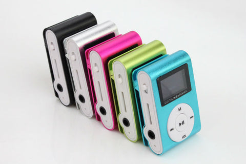colorful mp3 players