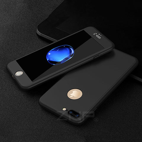 ZNP 360 Tempered Glass Cover Case For iphone
