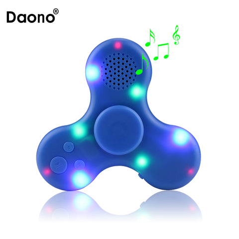 lights & music fidget spinner