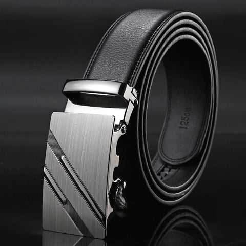 Kenty Shark luxury genuine leather belt male