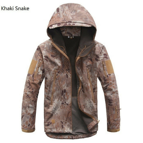 Softshell V5 Military Waterproof Tactical Camouflage Jacket