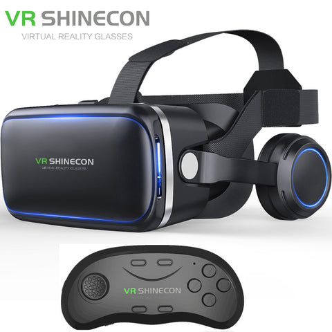Shinecon 6.0 Virtual Reality Bluetooth Headset