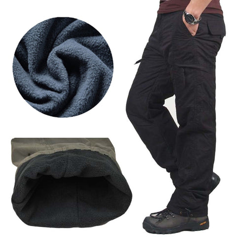 mens winter Cargo Pants