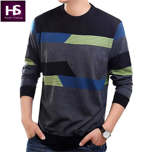 COODRONY O-Neck Wool Cashmere pullover Long Sleeve Sweater
