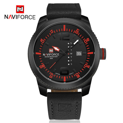 Luxury Relogio MasculinoMen's Fashion Casual Military Waterproof  wrist watch