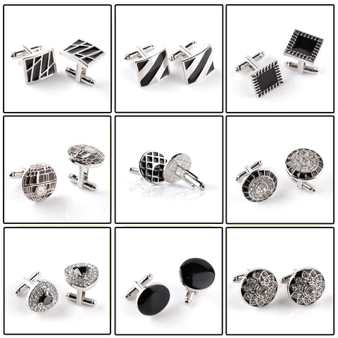 Men's high-end business-style cufflinks