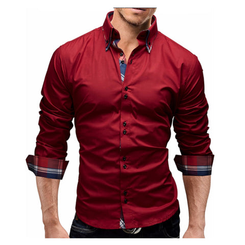yuqidong slim fit shirts