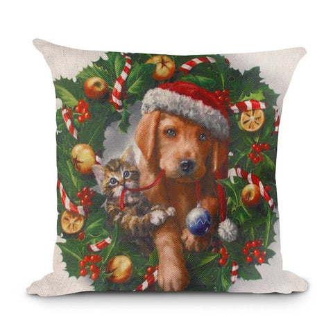 Christmas pillow cusion cover