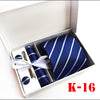 silk tie Cuff-links Gift Box