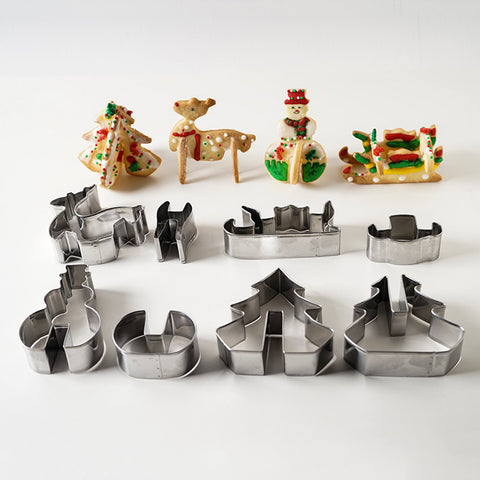 Stainless Steel Cookie Cutter Set