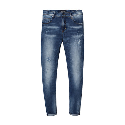 SIMWOOD New Monkey Wash Fashion Jeans