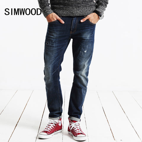 SIMWOOD New spring/Winter jeans for Men