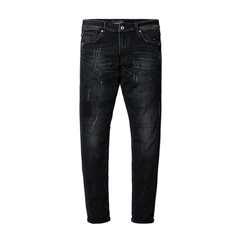 SIMWOOD men slim fit black denim