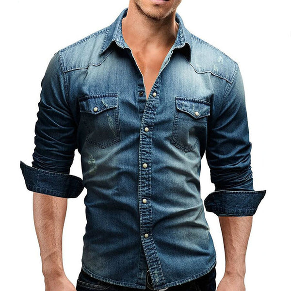 Long Sleeve Casual Slim Fit Shirts