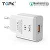 TOPK 18W Quick USB Charger 3.0