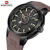 Luxury NAVIFORCE Men Unique Sports Watch