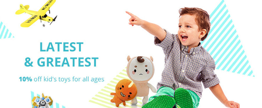 Toys and Games Banner
