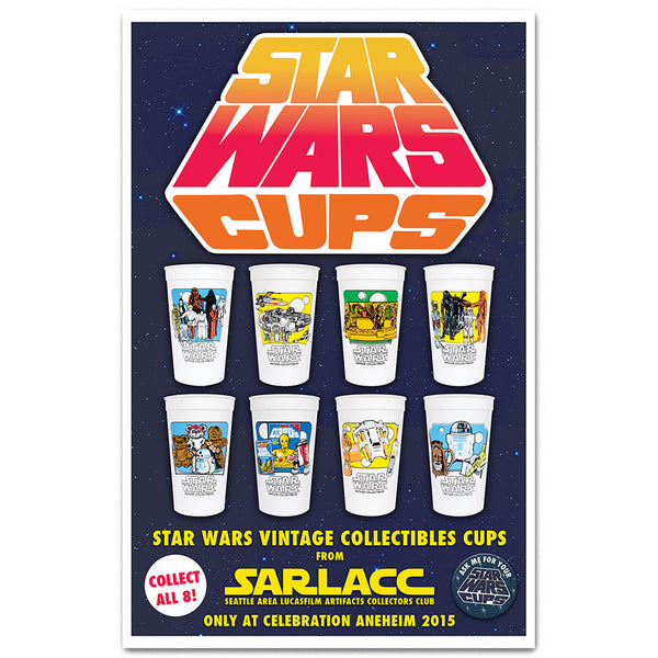 SARLACC Vintage Collectibles Cups
