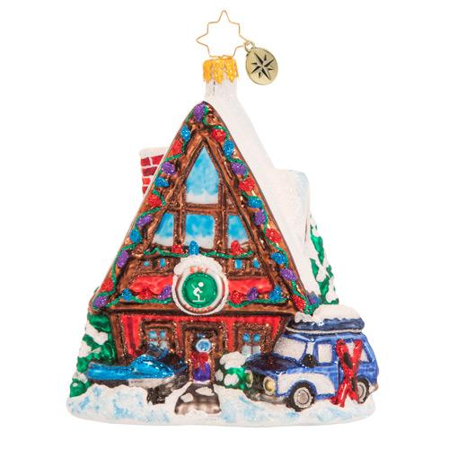 Radko House  & Village ornaments