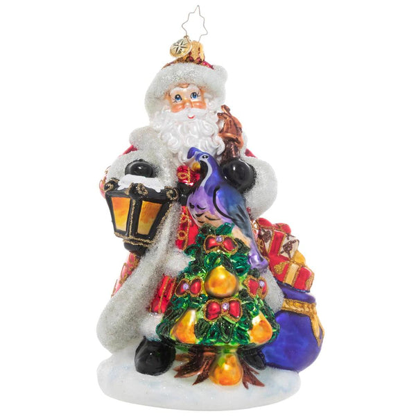 Radko Santa Ornaments