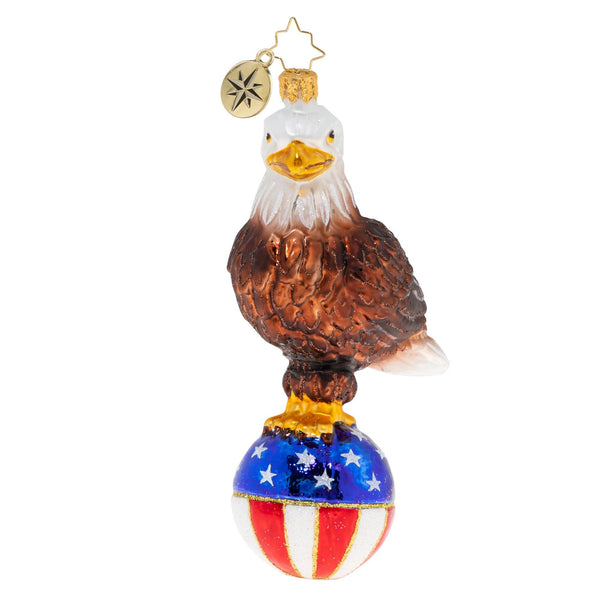 Radko Patriotic Ornaments