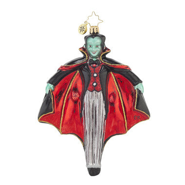 Radko Halloween Just Hangin Around Vampire ornament