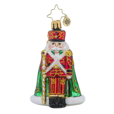 Radko Little Gem Major General Cracker Ornament