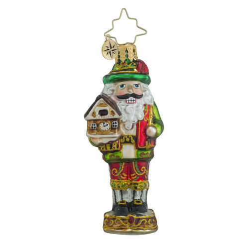 Radko Little Gem Bavarian Cracker Nutcracker Ornament New