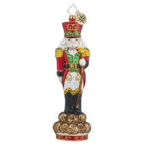 Radko Mr. Chestnuts Nutcracker Limited Edition Ornament