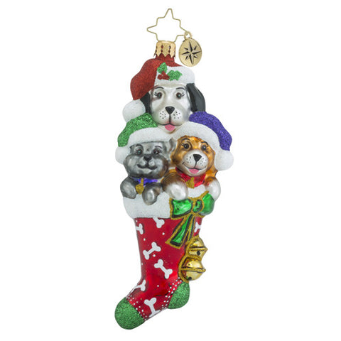 Radko Stocked Full Of Cute Cat Dog Ornament
