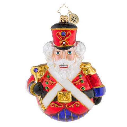 Christopher Radko MAN OR MOUSE Nutcracker Suite Double Sided ornament