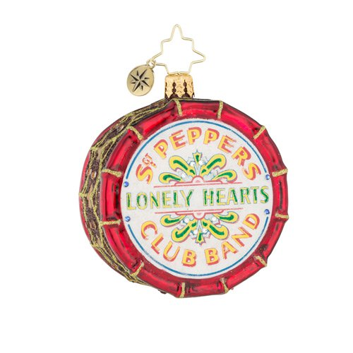 Christopher Radko the Beatles Gem Drum Roll, Please! Ornament