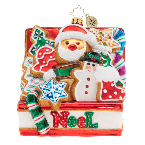 Christopher Radko Noel Cookies Better Ornament 2019