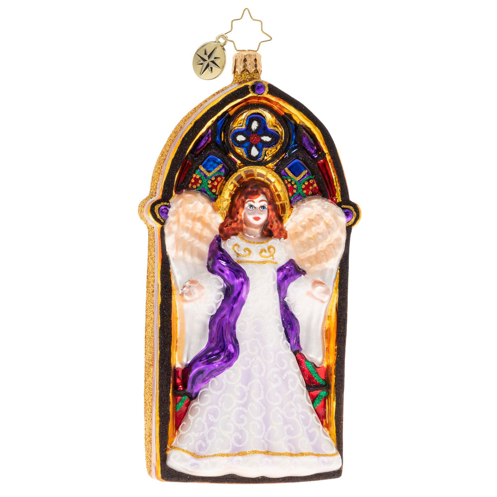 Christopher Radko Heavenly Helper Angel Ornament