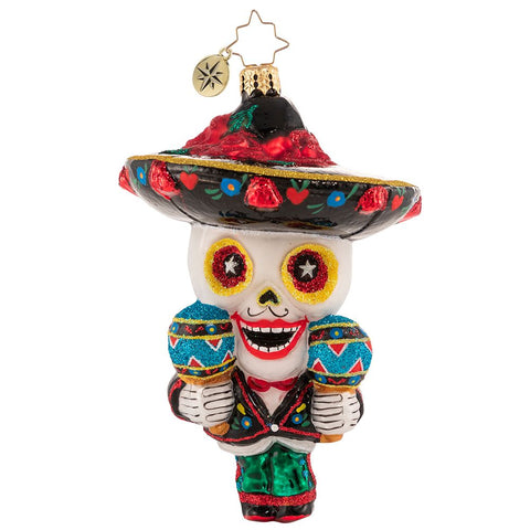 Christopher Radko Ready To Salsa! Day of the Dead Ornament