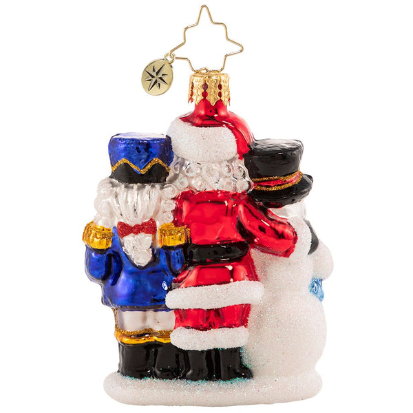 Christopher Radko 2021 Dated A Forever-Treasured Trio Gem Ornament