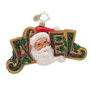 Radko JOYOUS NOEL Santa ornament NEW