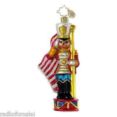 Radko WE SALUTE YOU Toy Soldier ornament NEW