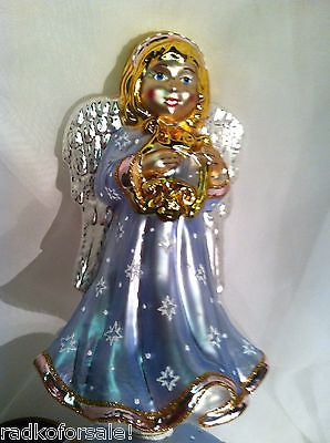 Christopher Radko Angel HEAVEN SENT Finial Tree Topper