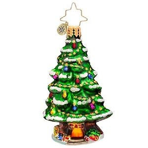 Radko LITTLE GEMS Home Spruce Home Tree ornament NEW