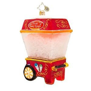 Christopher Radko TASTY TREAT MAKER Snow Cone Machine ornament