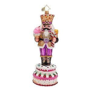 Radko SWEET MARCHER Nutcracker Cake ornament New