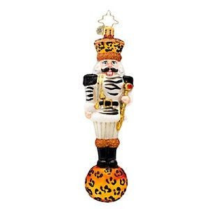 Radko ANIMAL CRACKER jungle nutcracker ornament New