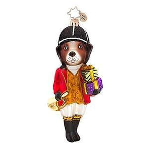 Radko HUNTER HOUND Hunting Dog ornament Sold Out!