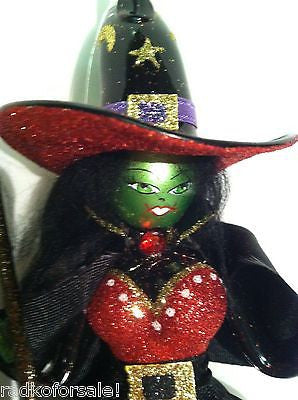 Radko Halloween Wickedly Witchy Witch Italian ornament NEW