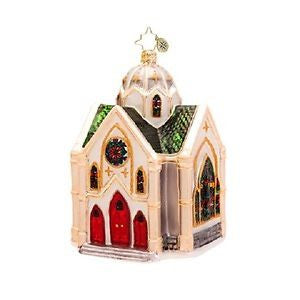 Radko HEAVENLY REFLECTIONS Cathedral Church ornament NEW