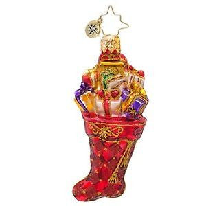 Radko LITTLE GEMS Scarlet Splendor Gem ornament NEW