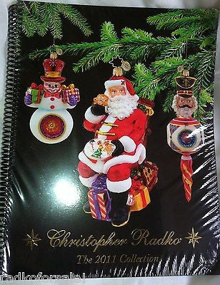 Christopher Radko 2011 COLOR CATALOG NEW sealed unused