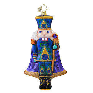 Radko SUGAR PLUME Nutcracker Peacock Design ornament NEW